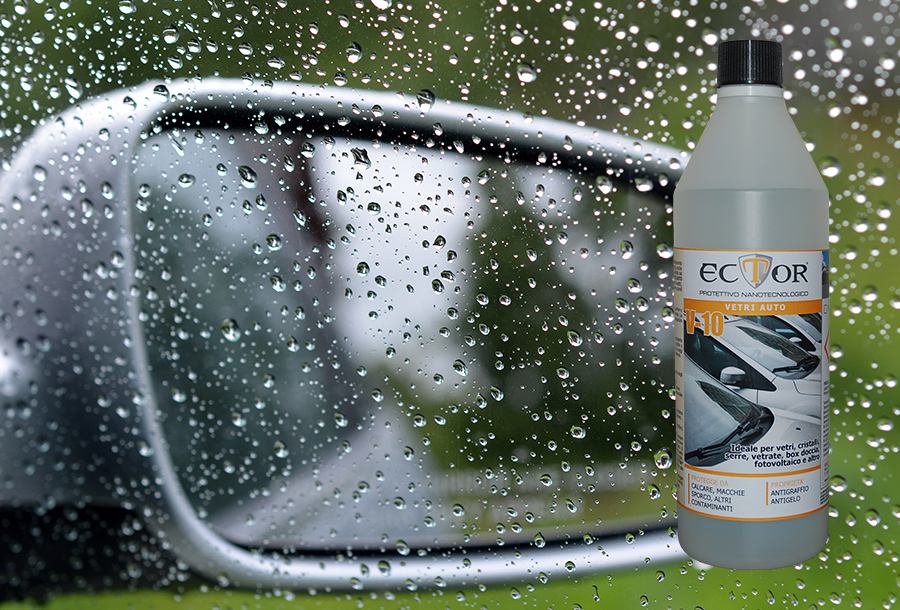 Ector V10 protettivo nanotecnologico vetri auto